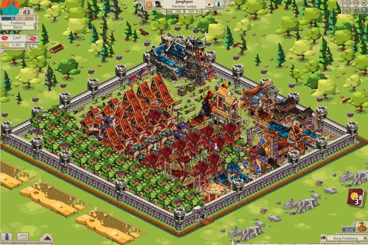 Goodgame Studios wächst auf über 202 Millionen Umsatz