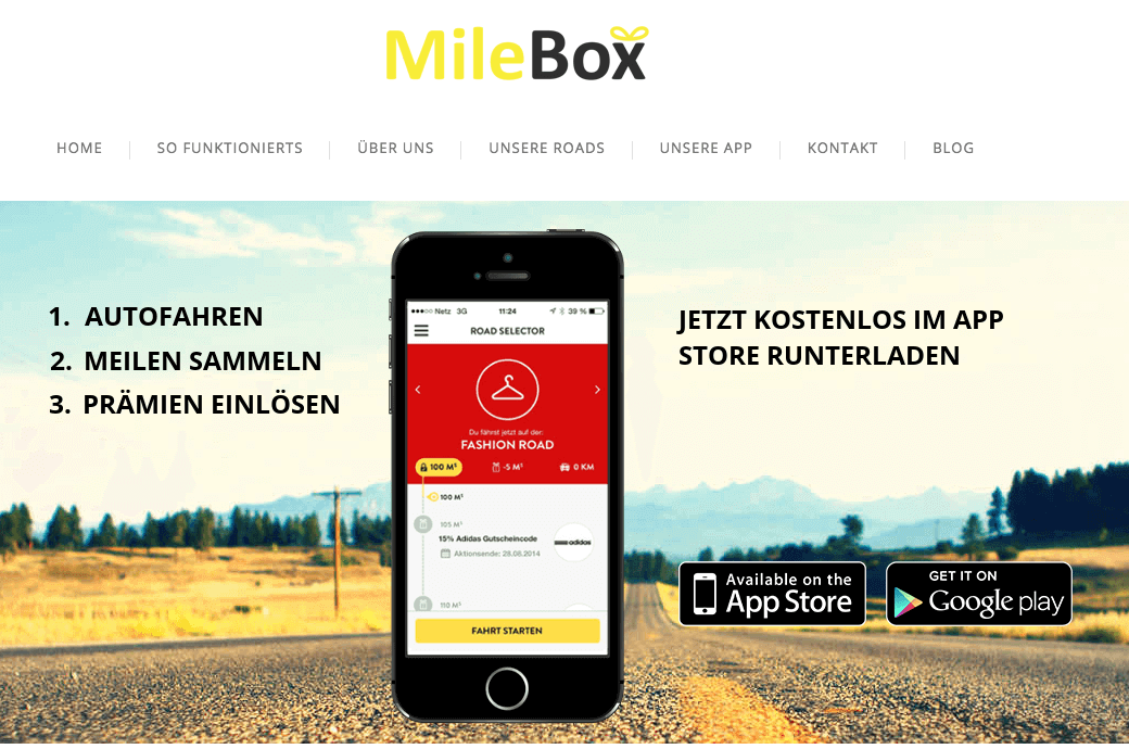 MileBox, digimeo, Paperlott, Experiencr, Taxiseat