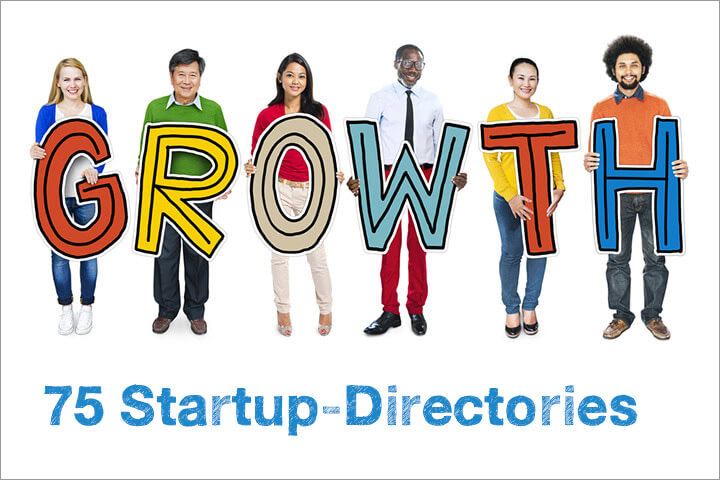 75+ startup-directories to promote your startup
