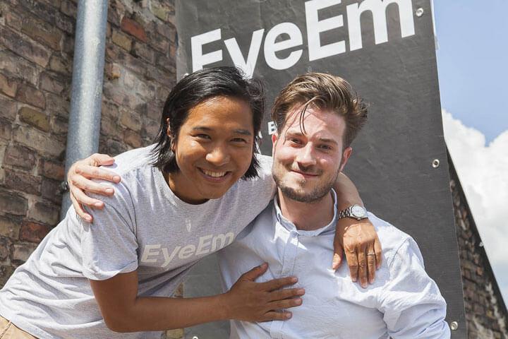 EyeEm sammelt 18 Millionen ein, um Bilder zu verkaufen
