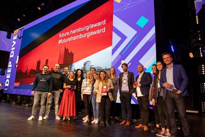 Drei innovative Startups aus Europa mit Future Hamburg Award ausgezeichnet