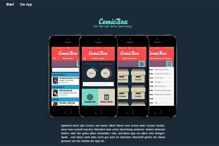 Mit Comicbox die eigene Sammlung per App verwalten