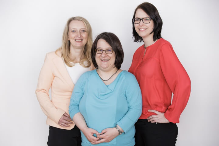 Drei Frauen, ein Tech-Start-up: Webdata Solutions