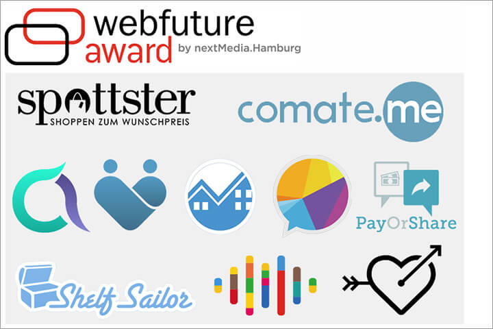 Webfuture Award 2015: Die 10 nominierten Start-ups
