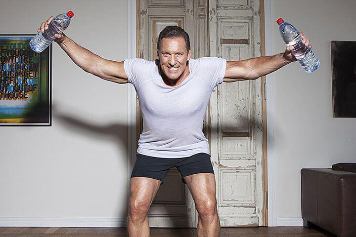 Jetzt kämpft Ralf Moeller gegen Wladimir Klitschko