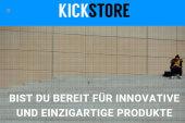 Kickstore bietet Produkte aus Crowdfunding Projekten