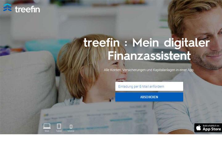 treefin ist dein digitaler Finanzassistent