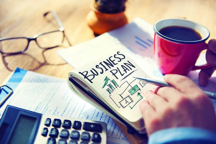 In fünf Schritten zum überzeugenden Businessplan