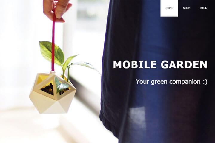 Mobile Garden – ein bunter Garten zum Mitnehmen