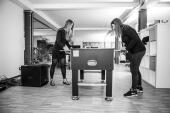 Zwischen Kicker und Club Mate bleibt noch Zeit für Schach