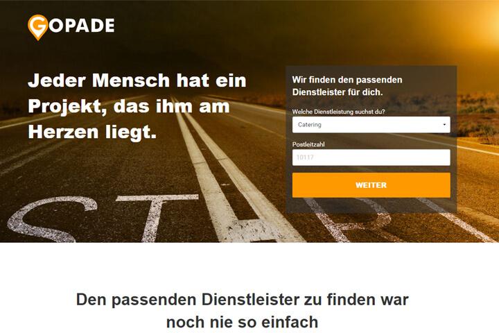 Tirendo-Gründer fordern mit Gopade StarOfService heraus
