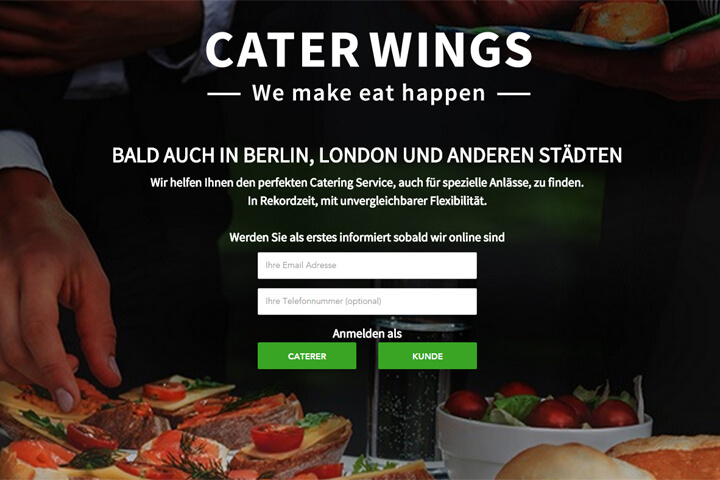 Bei CaterWings finden Firmen den passenden Caterer