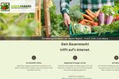 Green Farmer sammelt die Ernte ein