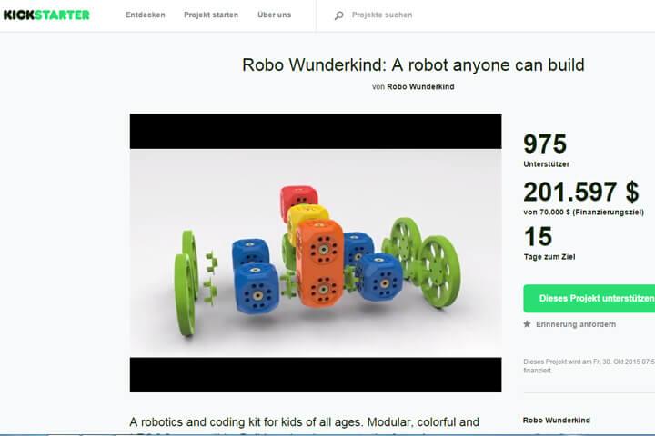 Robo Wunderkind – mit 5 Jahren schon Programmierer