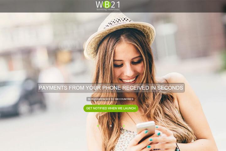 Mit WB21 kann jeder blitzschnell Geld transferieren