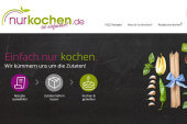 nurkochen.de, Tubevertise, ScaleCommerce, Cheers, Artshare