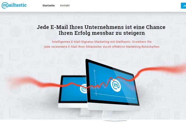 """Mailtastic bringt die """"E-Mail Signatur 2.0"""""""