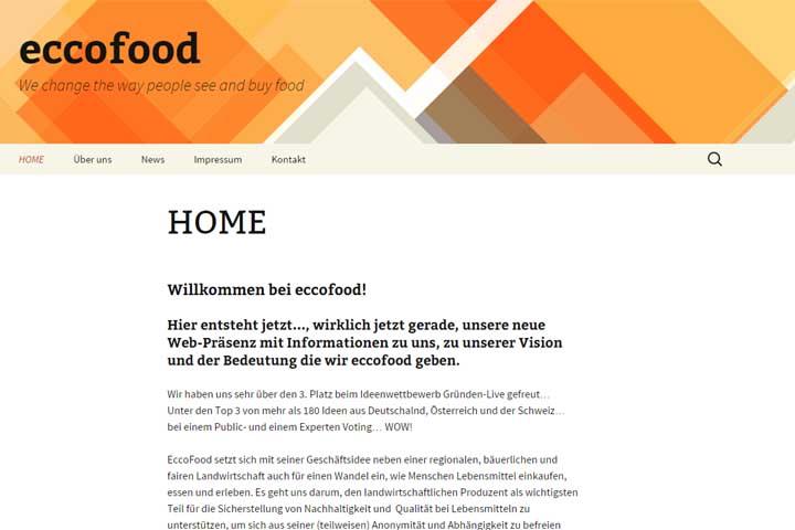 EccoFood –  Bauer trifft auf Verbraucher