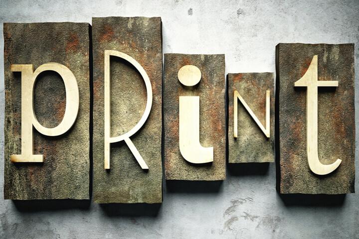 Print-Produkte = Mehr Aufmerksamkeit für Start-ups