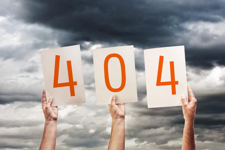 404 Error – 10 richtig schöne Start-up-Fehlerseiten