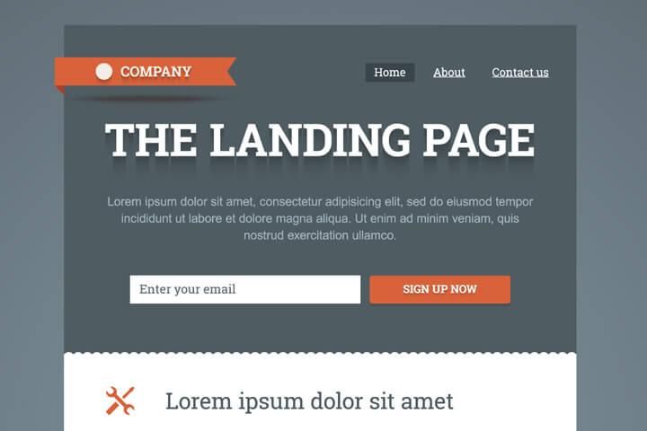 9 Tipps, wie man die perfekte Landingpage aufbaut