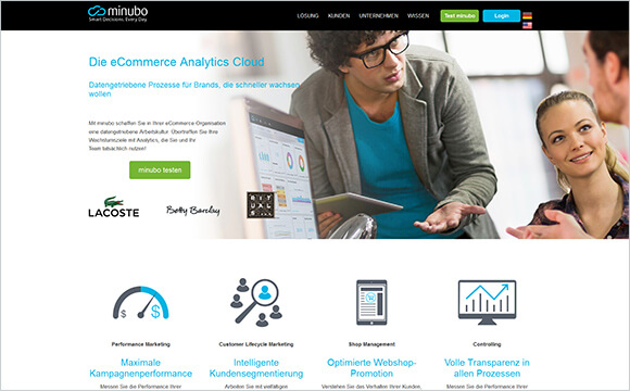 Minubo: Business Intelligence aus der Cloud