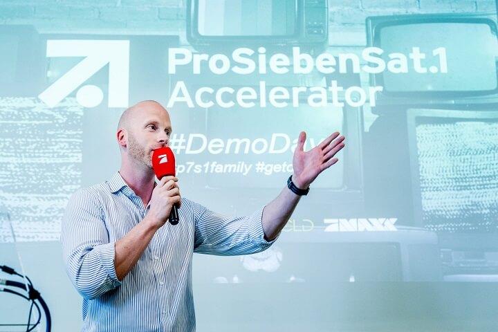 ProSiebenSat.1 Accelerator erhöht sein TV-Budget für Start-ups auf 600.000 Euro