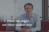 5 Zitate, die zeigen, wie Oliver Samwer tickt