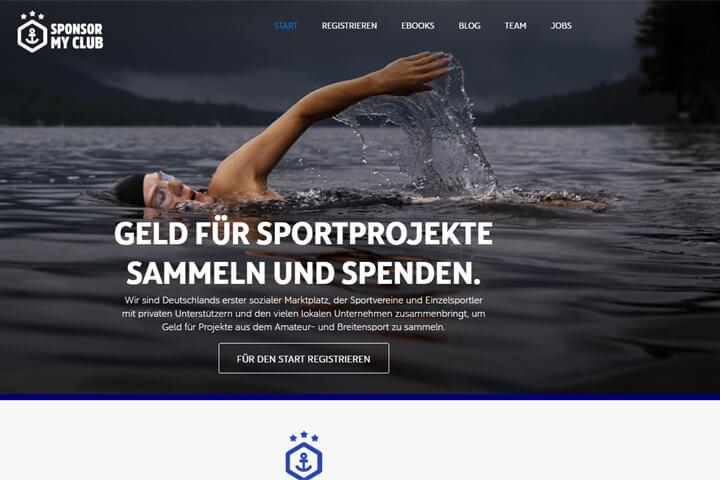 Sponsor my Club – Crowdinvesting für Sportprojekte
