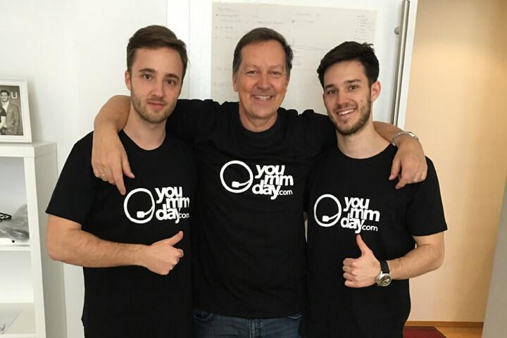 telegate-Gründer startet yoummday – mit seinen Söhnen