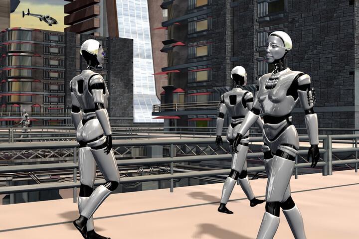 Vier Gründer, die Künstliche Intelligenz erschaffen