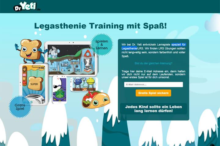 Ex-Wummelkiste-Macher startet Legasthenie-App Dr. Yeti