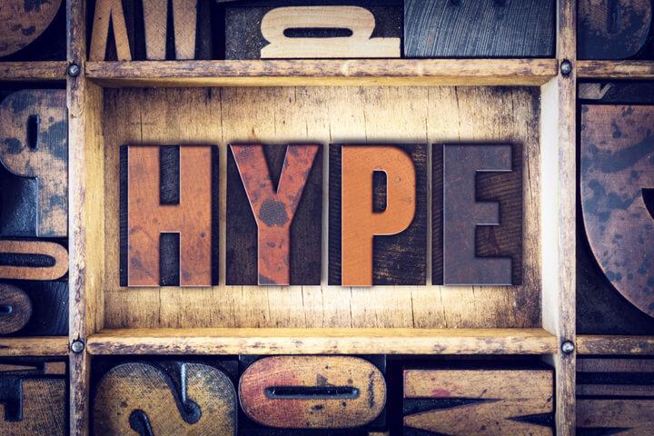 Hype! Wysker! Instagram! Tinder! Blockchain! ICO!