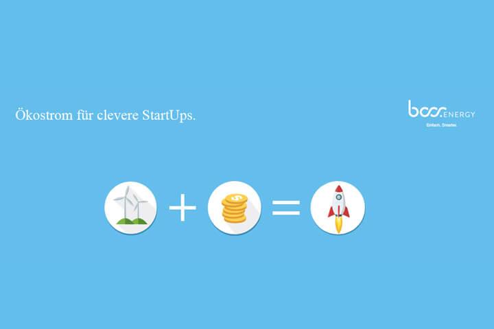 boss.energy bietet Deutschlands einzigen StartUp-Stromtarif