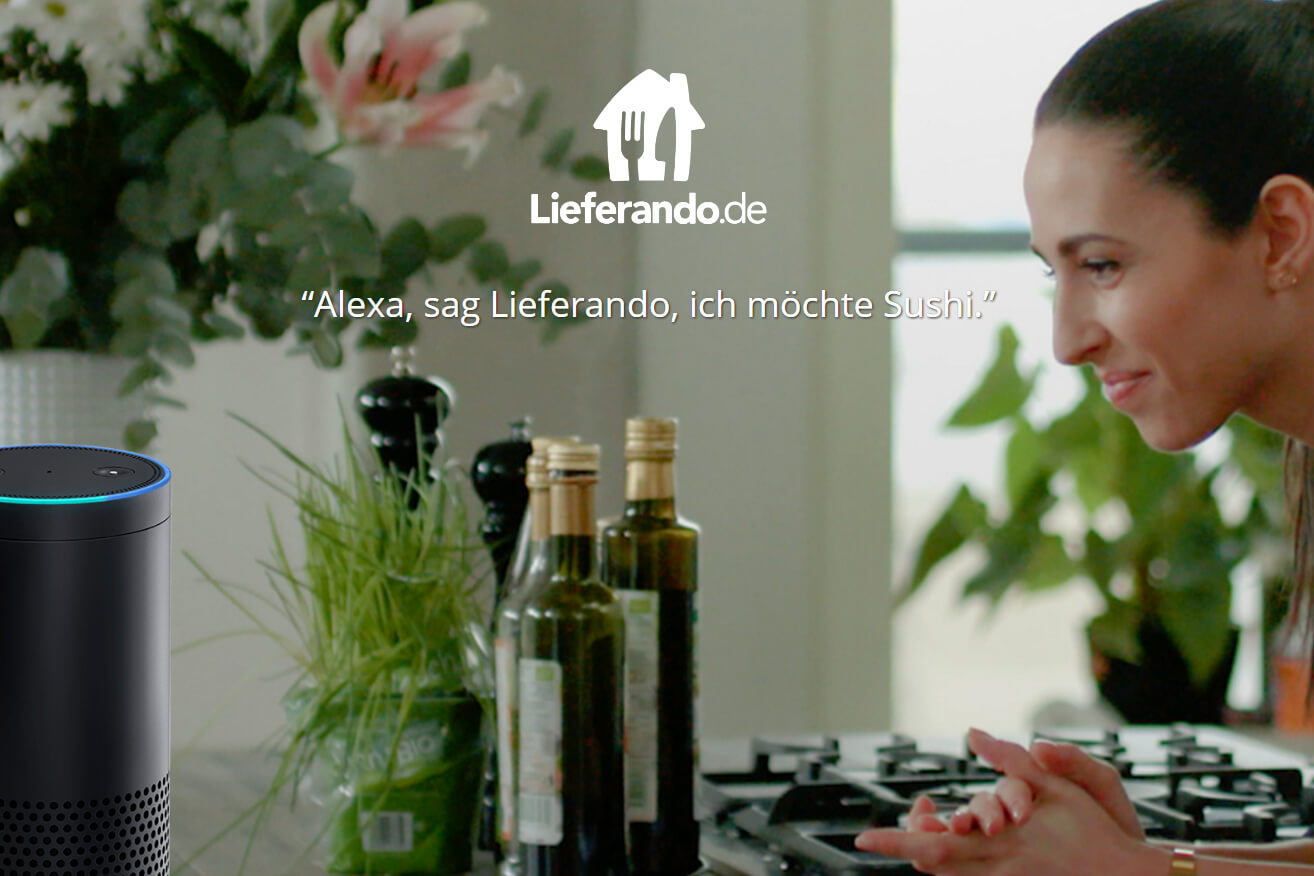 """""""Alexa, ich will Sushi"""" – Lieferando setzt auf Amazon Echo"""