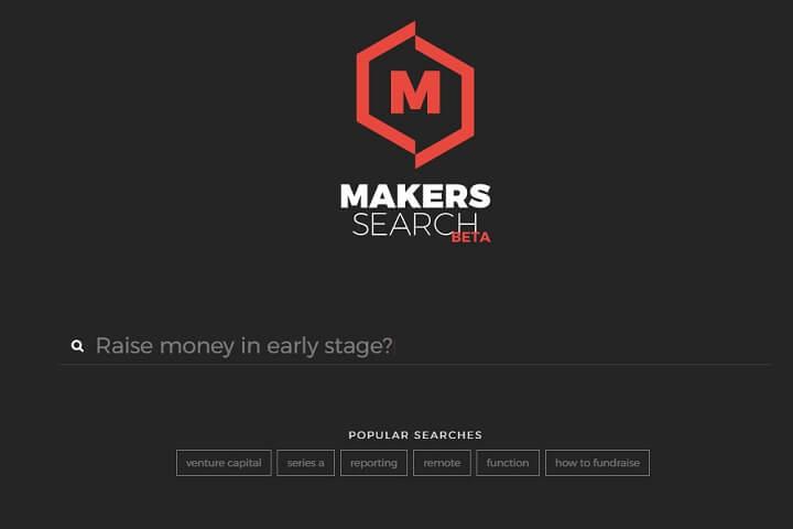 Makers Search – ein Google für Gründer