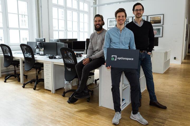 optionspace: Büros einfach auf Zeit mieten