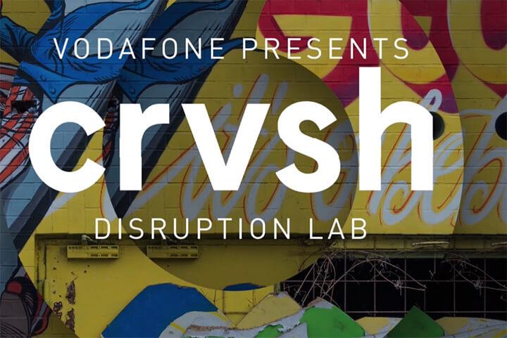 Vodafone startet crvsh, ein Ideenlabor ohne graue Anzüge