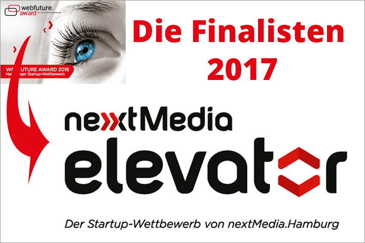 nextMedia Elevator: Die Finalisten 2017