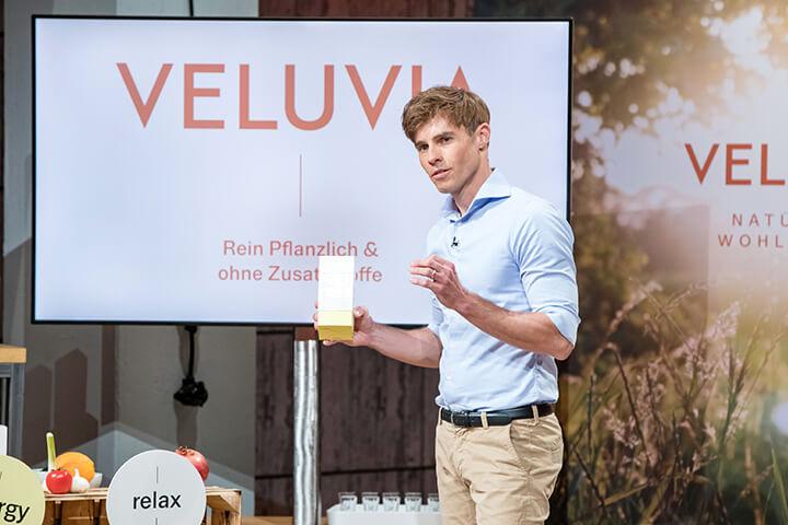 Veluvia – ein Ex-Banker, der gesunde Kapseln verkauft