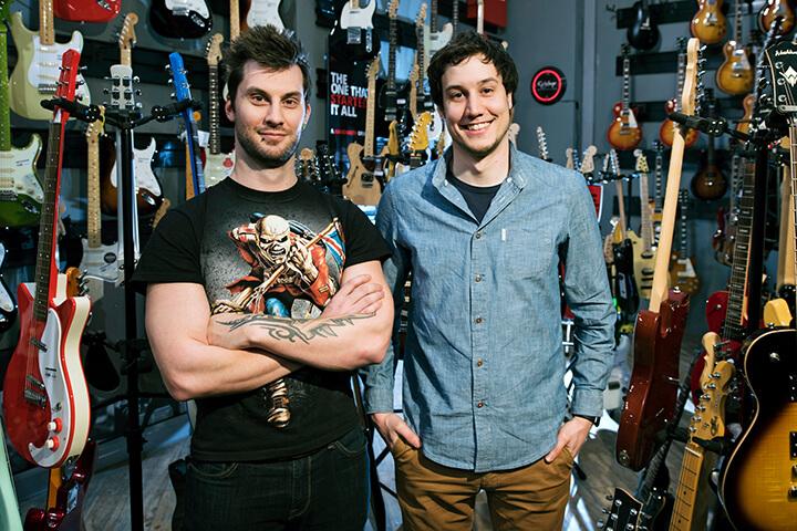 Und dann laden Fender und Sony Music Dich plötzlich ein!