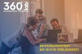 Letzte Chance: 360 Lab Accelerator hat die Bewerbungsfrist verlängert