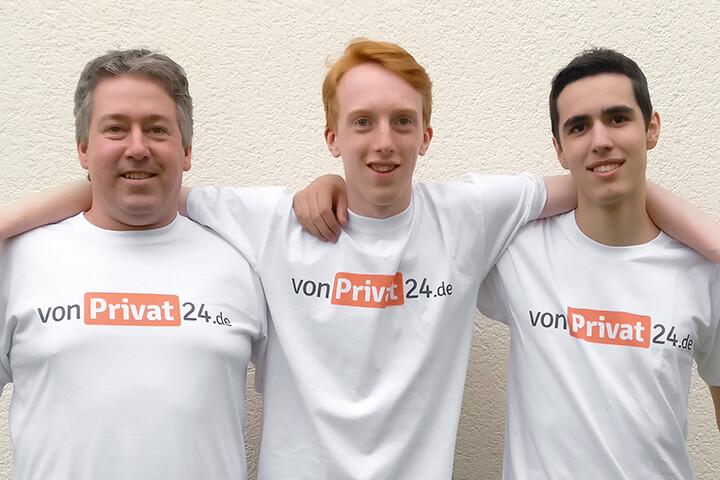 vonPrivat24 – hier wirken Vater und Sohn gemeinsam