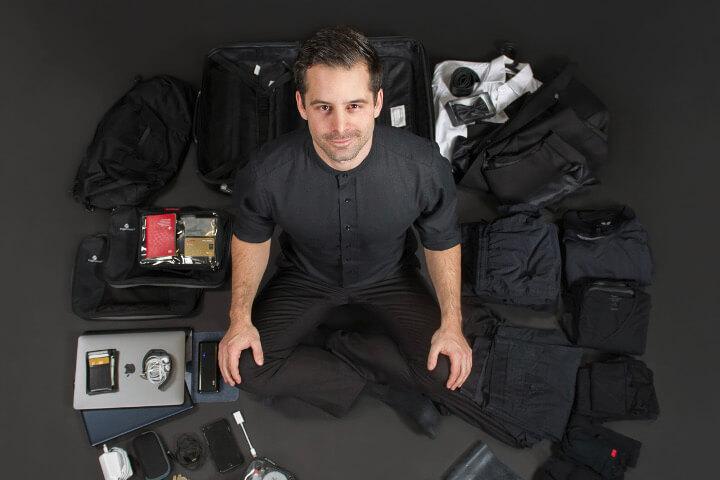Cedric Waldburger, ein Gründer, der aus dem Koffer lebt