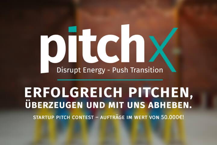 pitchX – Der Startup Wettbewerb für eine bessere Zukunft