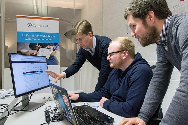 CyberDirekt bekommt zum Start 1,2 Millionen spendiert