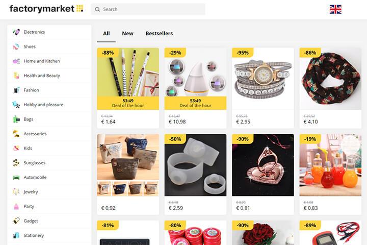 factorymarket: E-Commerce-Ramsch auf Millionen-Speed