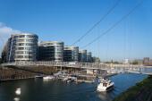 Im Duisburger Hafen legen nun auch Startups an