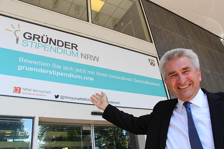 Gründer-Grundeinkommen in NRW: 1.000 Euro im Monat