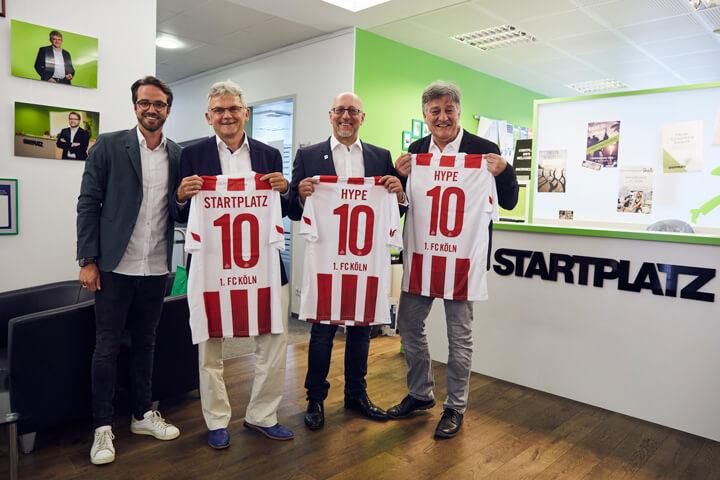 """Oh FC Köln, Erster FC Köln"" – 1.FC Köln startet Startup-Programm #effzeh"